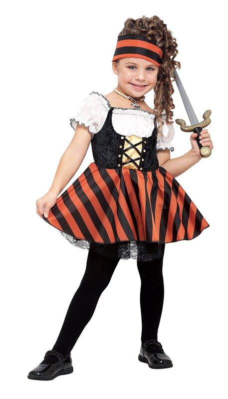 Костюм пирата для девочки своими руками фото 16