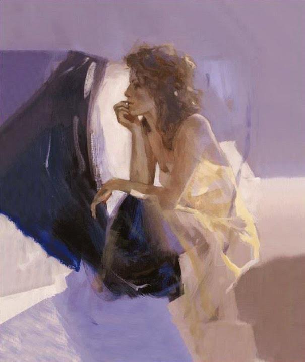 Работы бельгийской художницы Christine Comyn