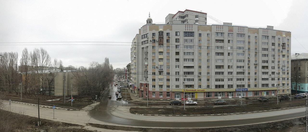 Панорама Заводской район Улица Авиастроителей