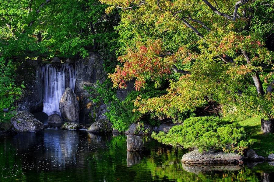 Японский Сад Никка Юко. Канада.