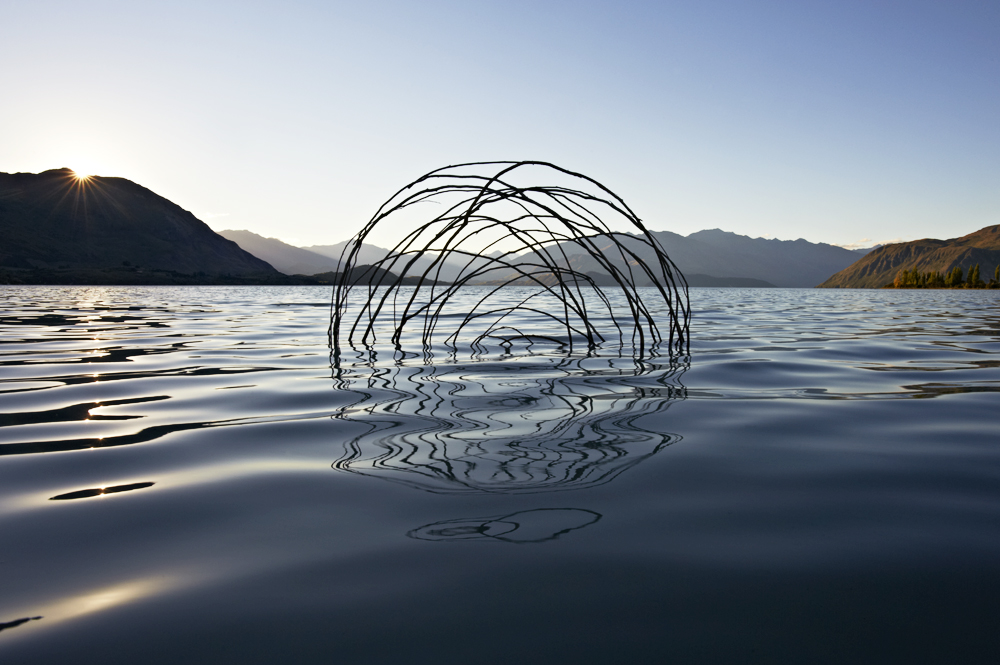 Ephemeral Environmental Sculptures Evoke Cycles of Nature