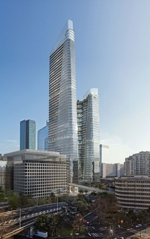 THE LINK A New Paris Tower by PCA-STREAM