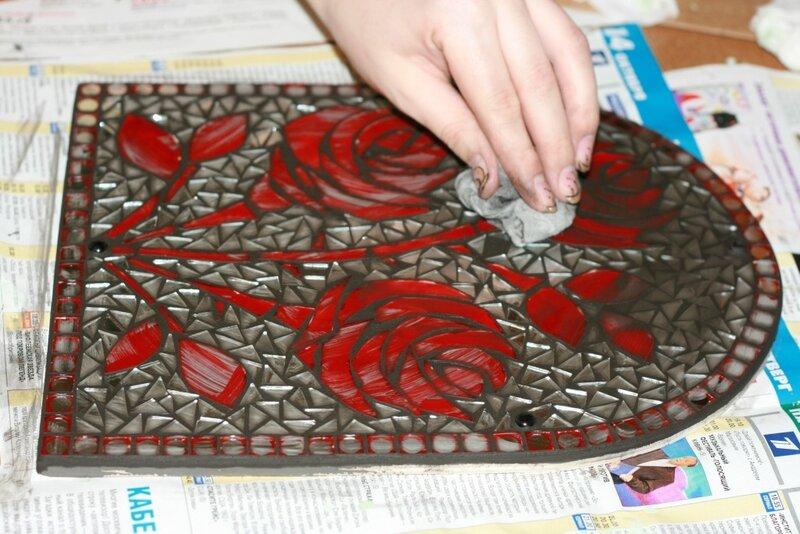 Мастер класс мозаика из стекла своими руками 39