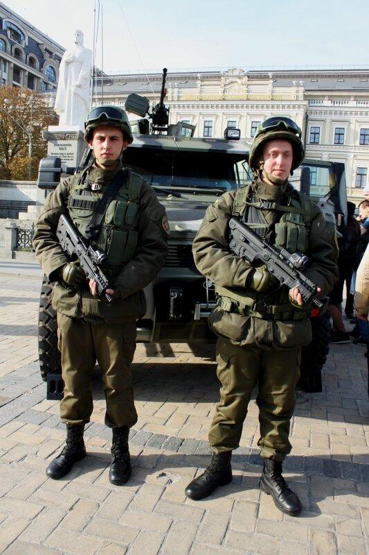 Украинская военная экипировка