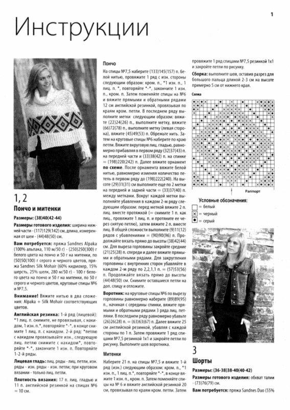 Схемы вязания женских шорт крючком и спицами.