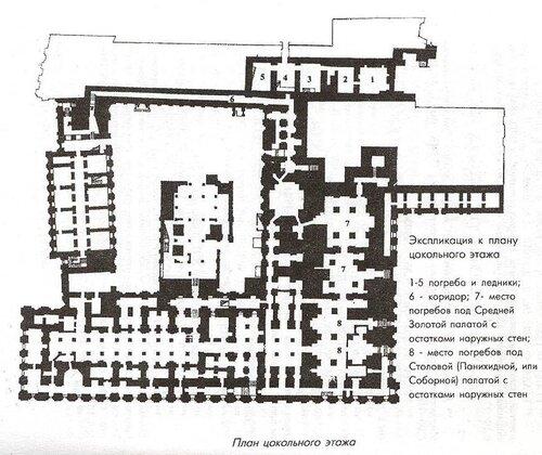 Поэтажные планы Дворца с