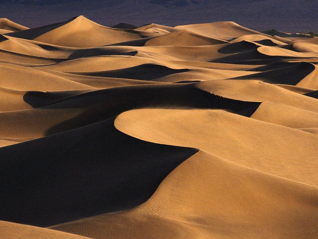 Дюны и барханы в фотографиях