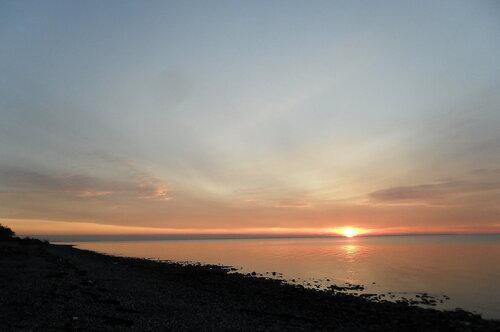 Вечер у моря, ноябрь