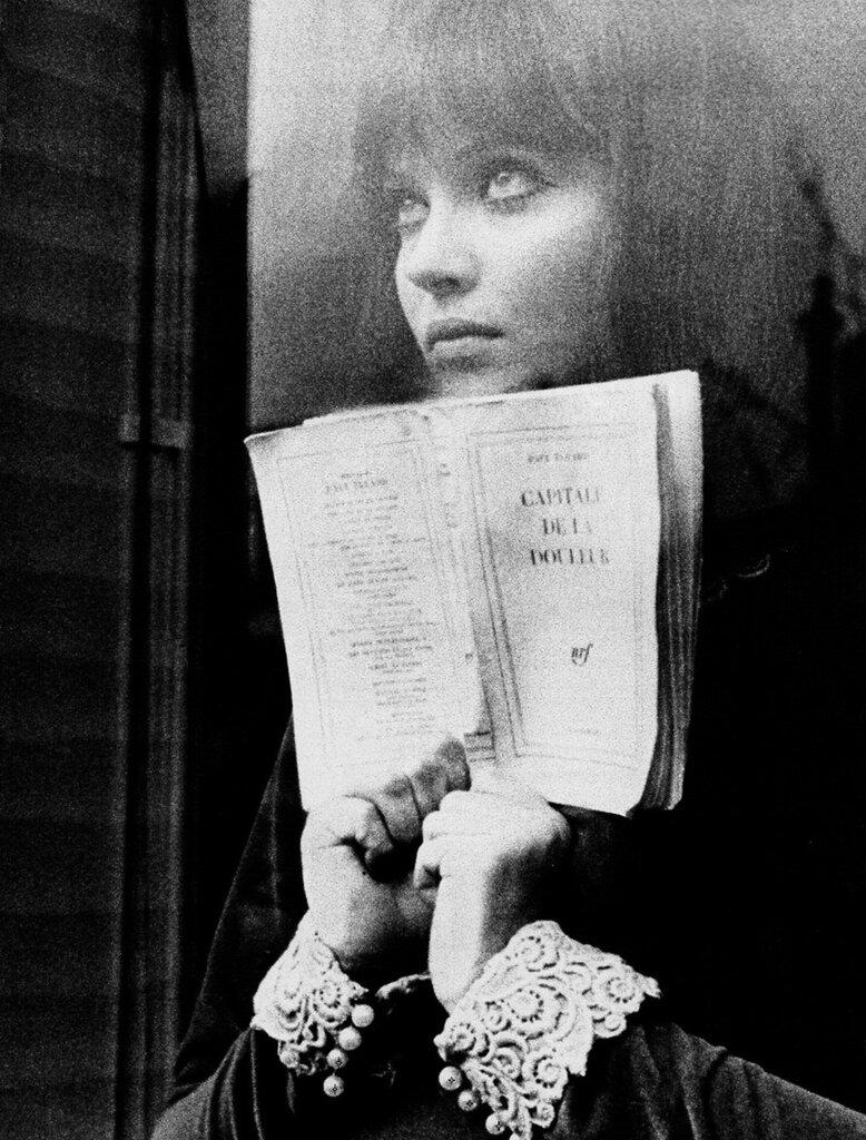 Anna Karina in Alphaville 1965, Jean-Luc Godard