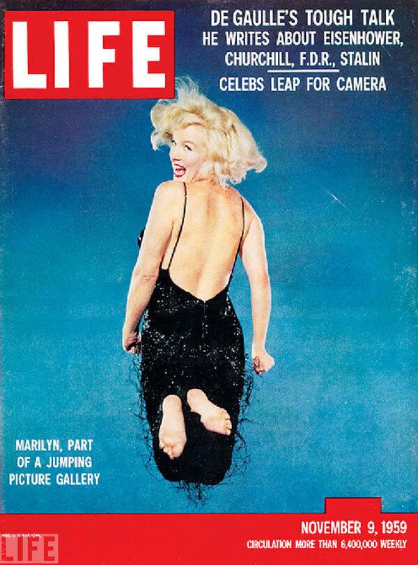 LIFE Covers Marilyn Monroe - November 9, 1959