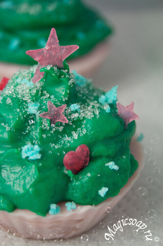 новогоднее мыло, новогоднее мыло ручной работы, мыло ручной работы