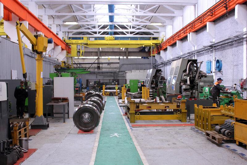 Изготовление колёс для Московского метро
