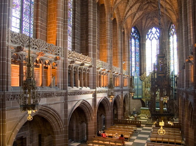 Кафедральная церковь Христа в Ливерпуле