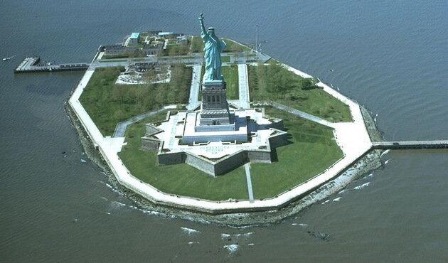 Статуя Свободы. Нью-Йорк, США