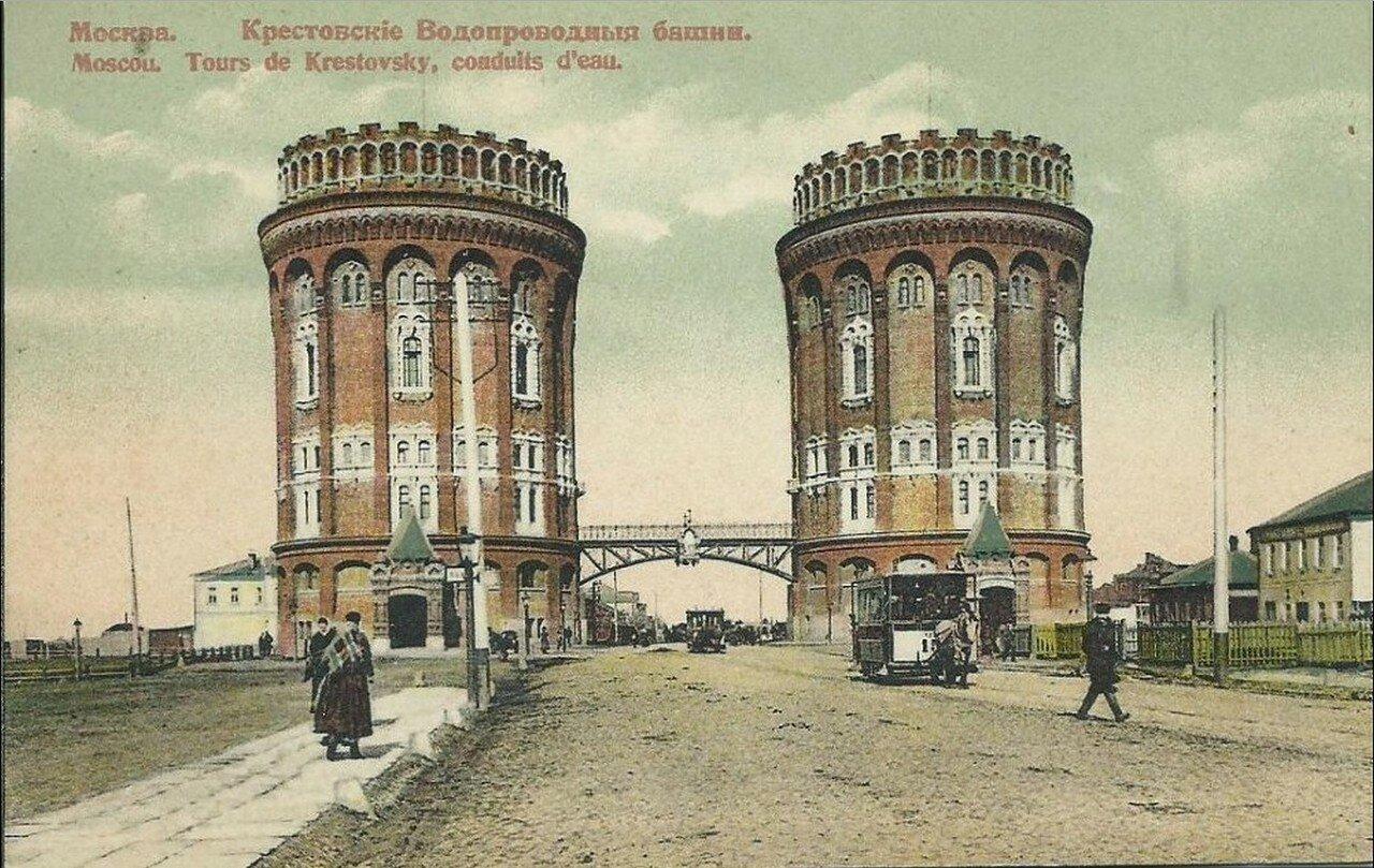 Крестовские Водопроводные башни