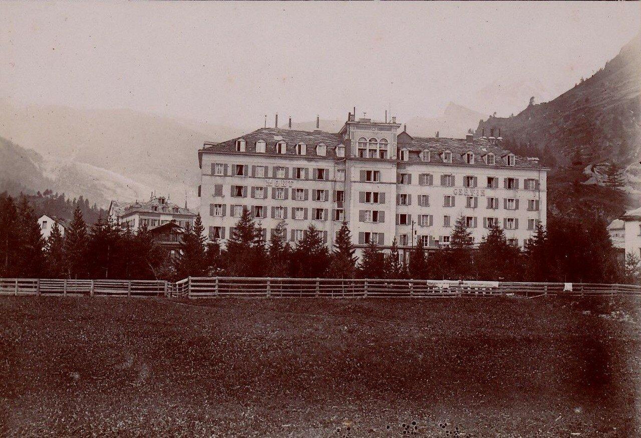Церматт. Отель «Mont Cervin Palace»
