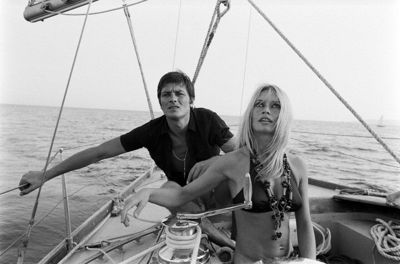 1968. С Брижит Бардо в Сан-Тропе