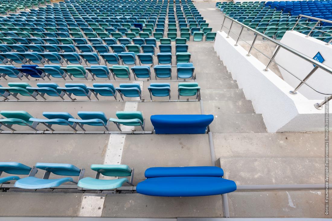 стадион фишт фотография трибун