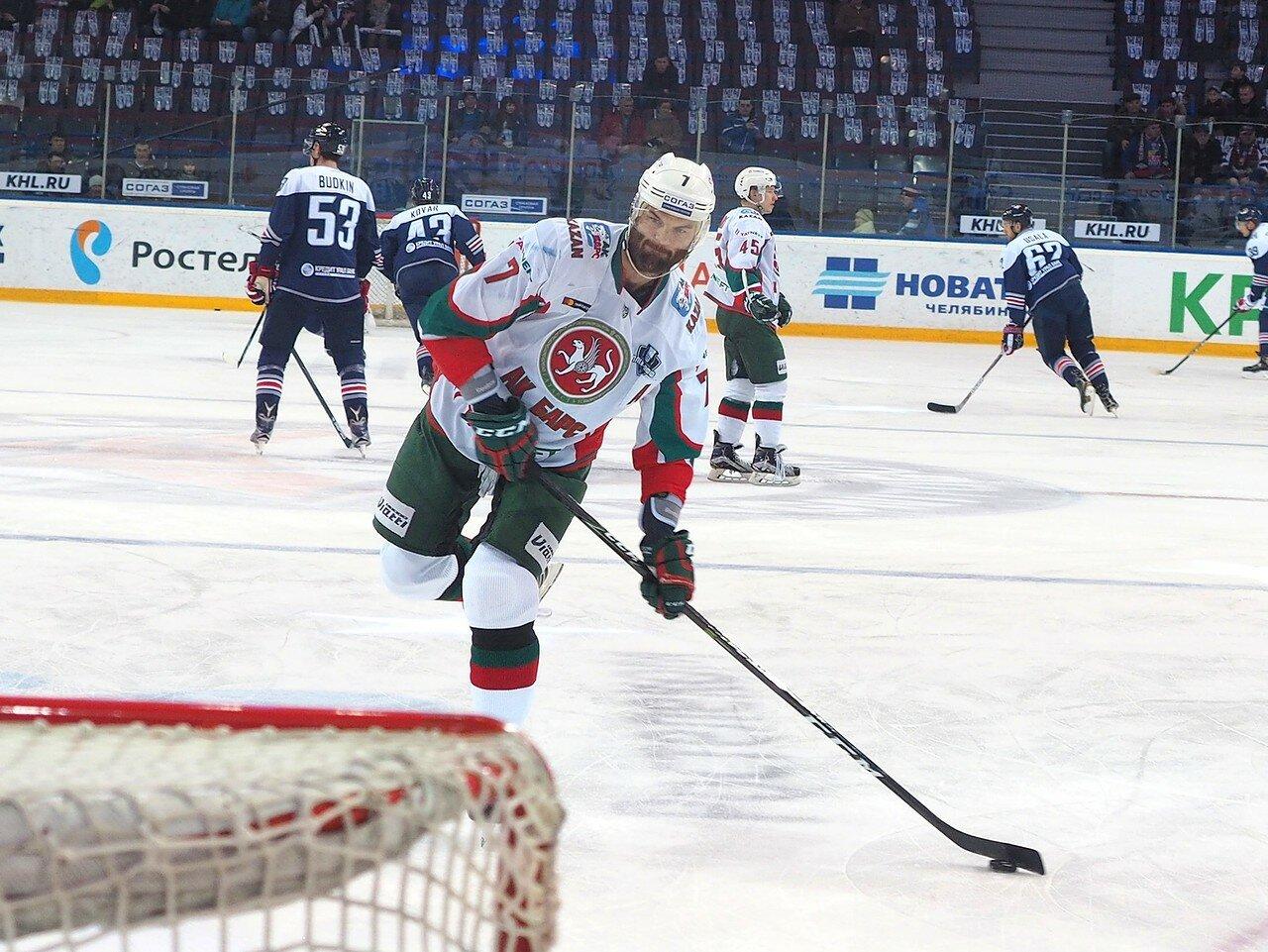 14 Первая игра финала плей-офф восточной конференции 2017 Металлург - АкБарс 24.03.2017