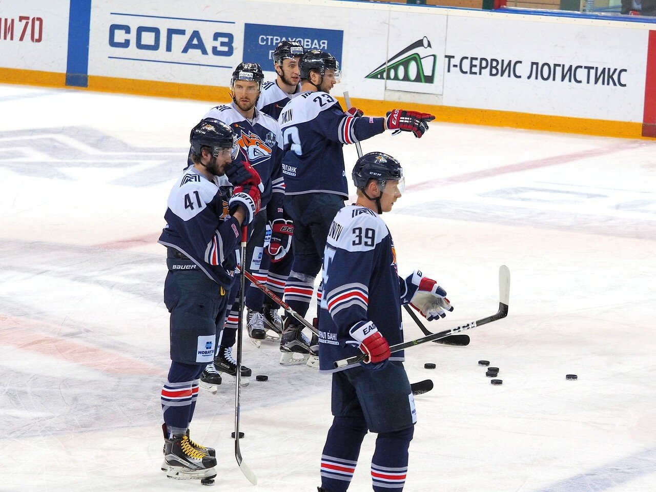 25 Первая игра финала плей-офф восточной конференции 2017 Металлург - АкБарс 24.03.2017