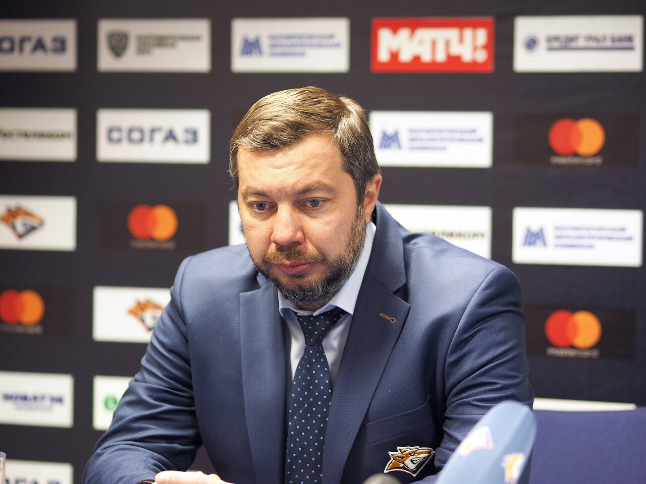 136 Первая игра финала плей-офф восточной конференции 2017 Металлург - АкБарс 24.03.2017
