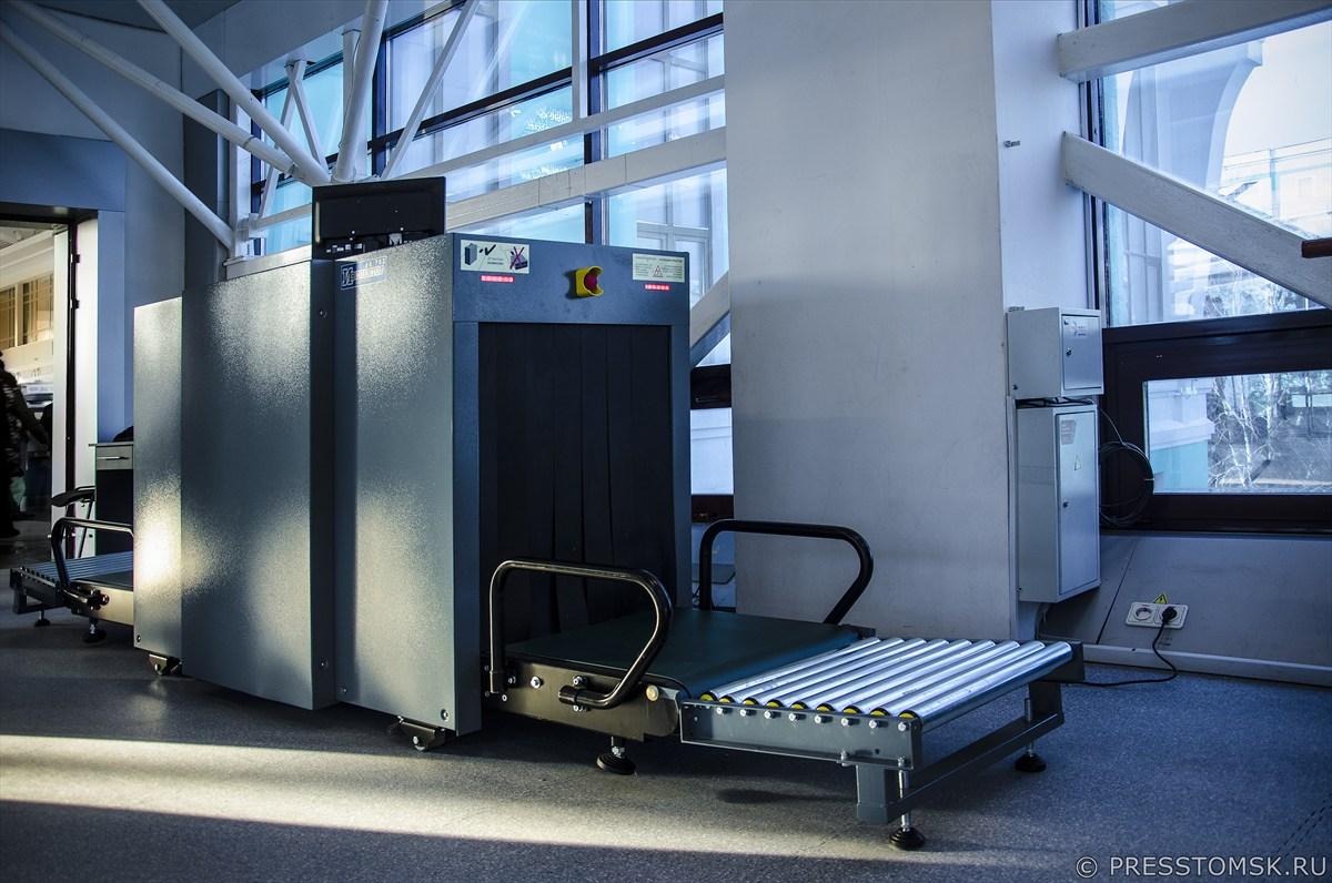 рентгено-телевизионная система контроля ручной клади