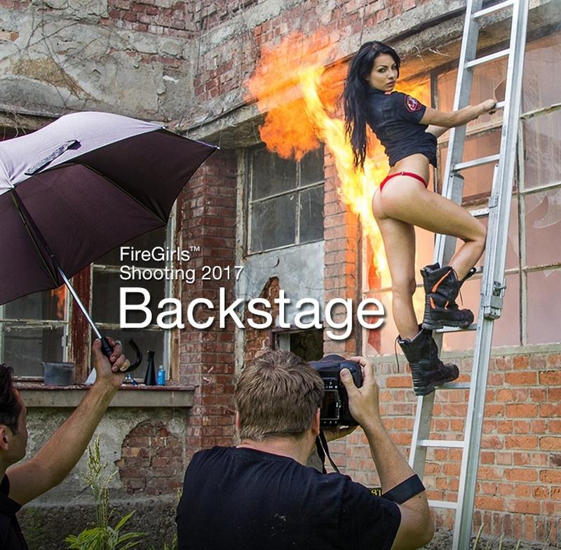 Увлекательные съемки календаря с сексуальными пожарницами