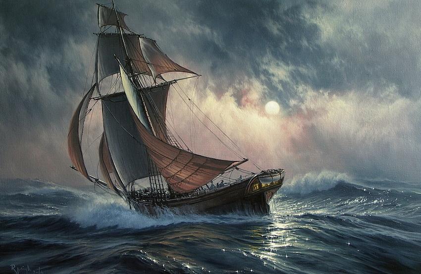 Польский Айвазовский: живопись художника-мариниста Марека Ружика