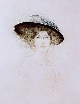 Поль Сезар Эллё. Портрет Лианы де Пужи, 1908
