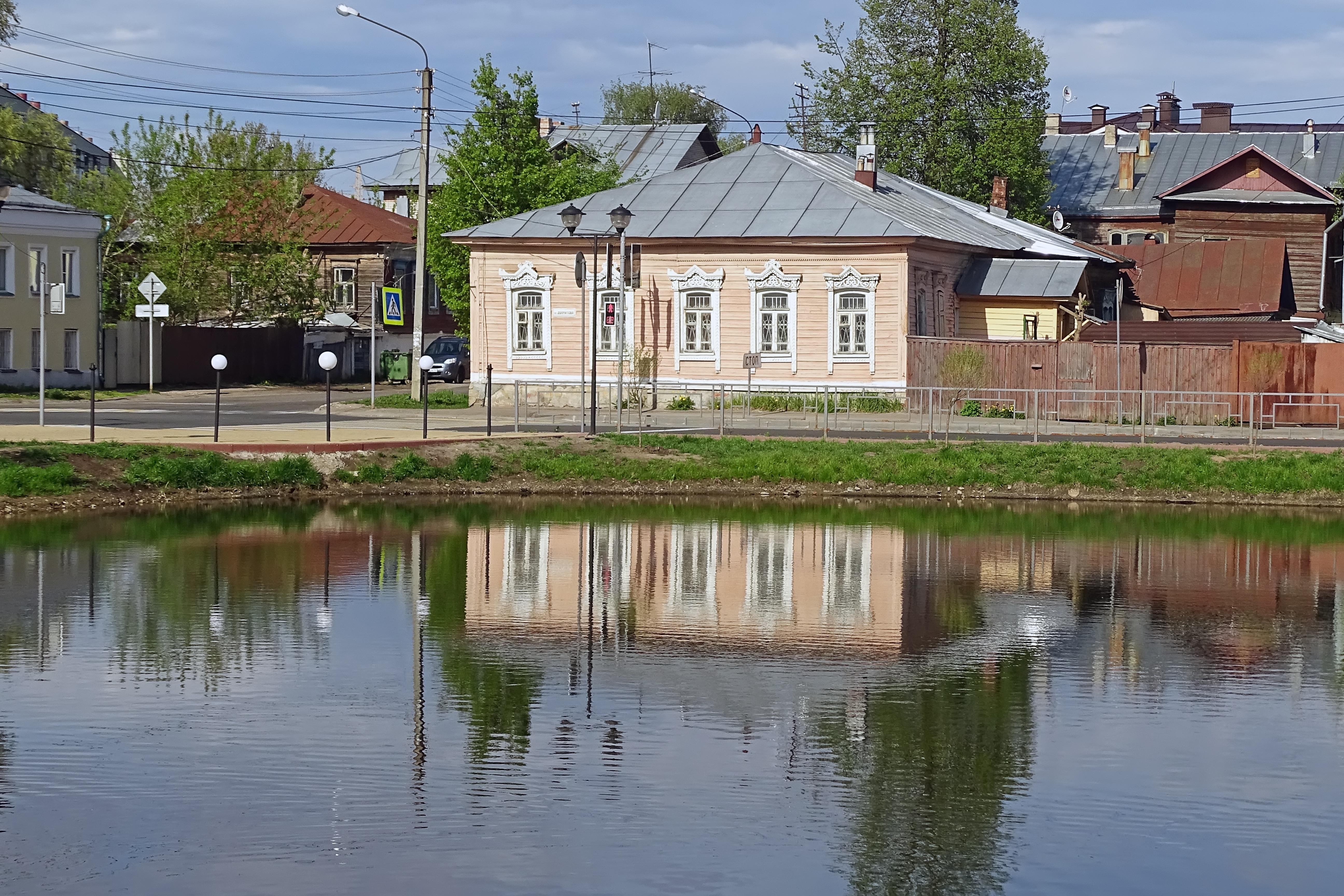 (7) Шаговский пруд. Между улицами Шагова и Долматова.JPG