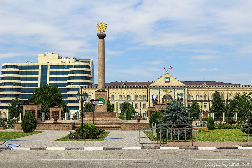 Грозный, экскурсия, Кавказ, Грозный, город республика, Чеченская Чечня, путешествие, Грозного? Мэрия