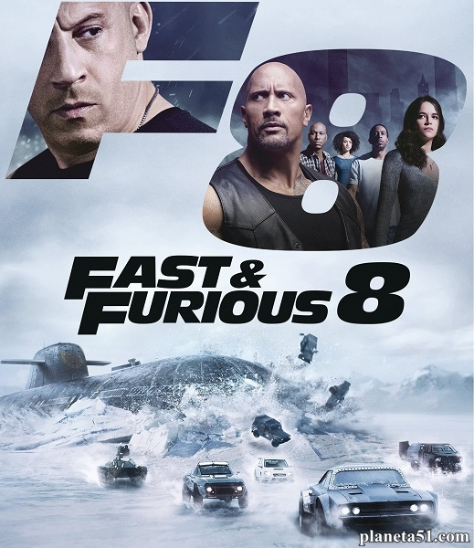 Форсаж 8 / The Fate of the Furious (2017/TS)