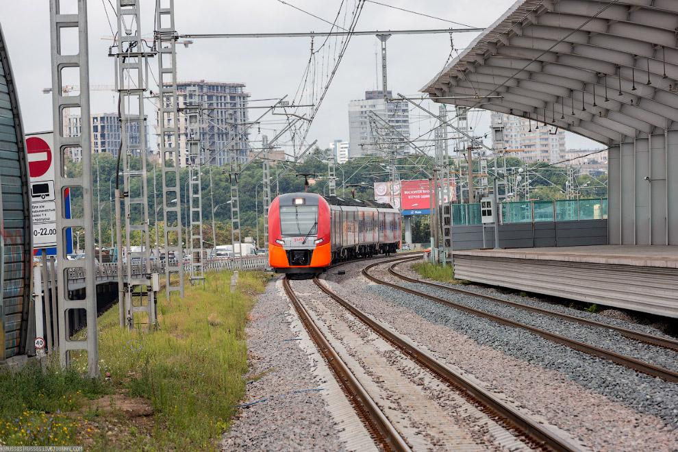 9. Объем движения поездов на Малом кольце МЖД будет достигать 120 пар поездов в сутки с интерва