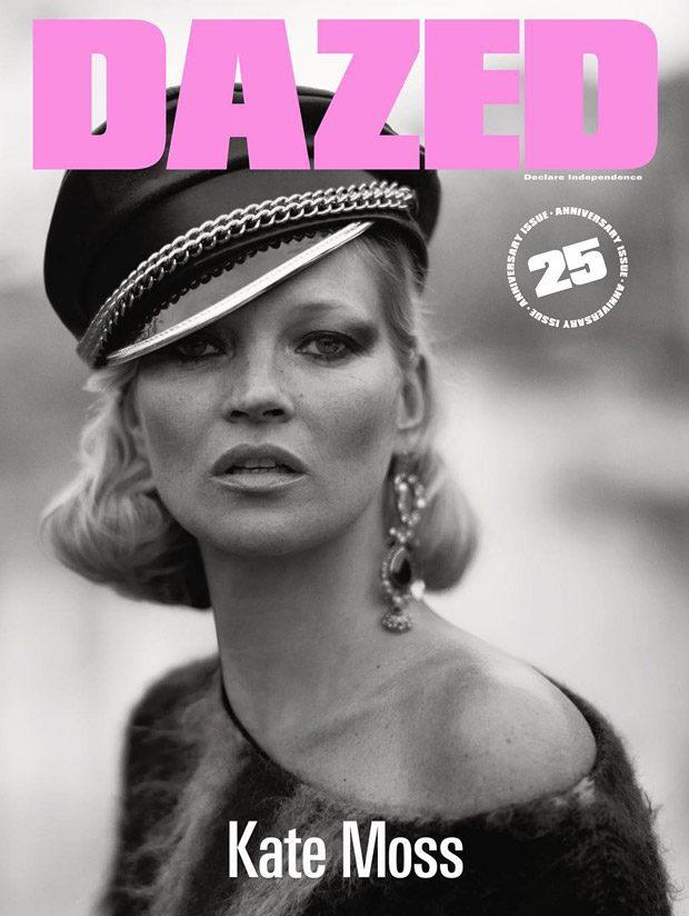 Кейт Мосс в Dazed Magazine (8 фото)