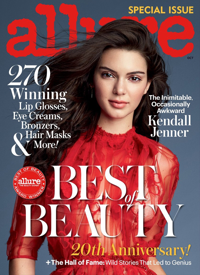 Кендалл Дженнер на обложке Allure Magazine