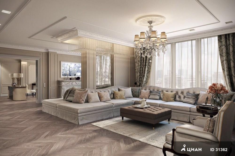 Как выглядит самая дорогая квартира в аренду в Москве за 5 млн в месяц (15 фото)
