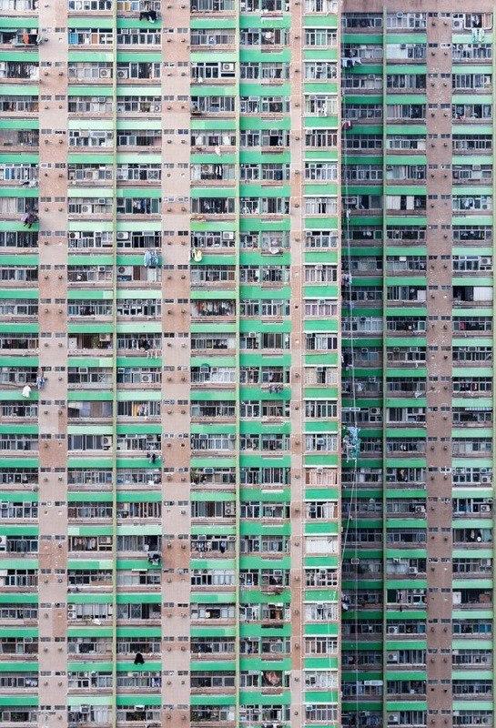Дома в в Гонконге от фотографа Nick Frank