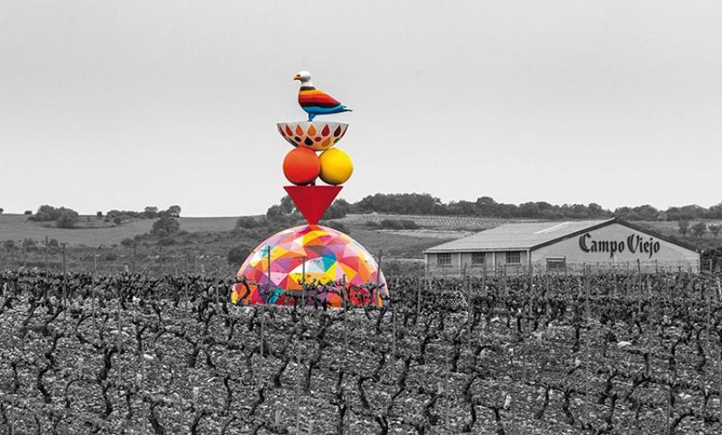 Виноградники вЛогроньо, Испания.