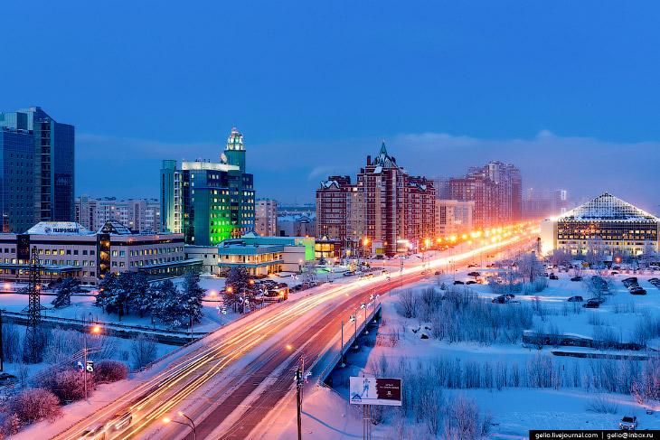 Фотографии и текст Славы Степанова   1. Город Сургут один из старейших в Сибири — основан в