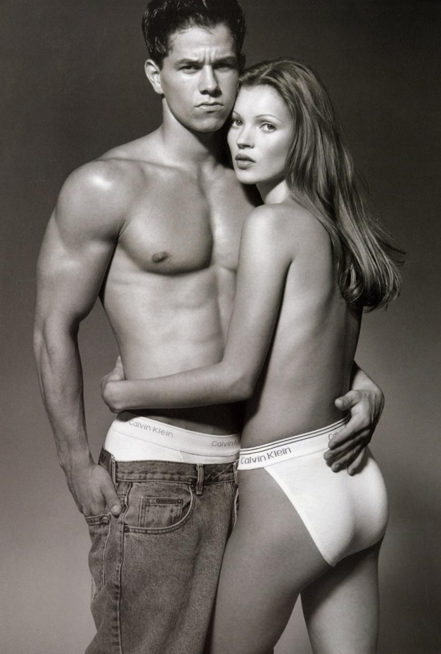 Кейт Мосс В 1992 году Calvin Klein выпустил первую коллекцию одежды в стиле унисекс, набиравшем в то