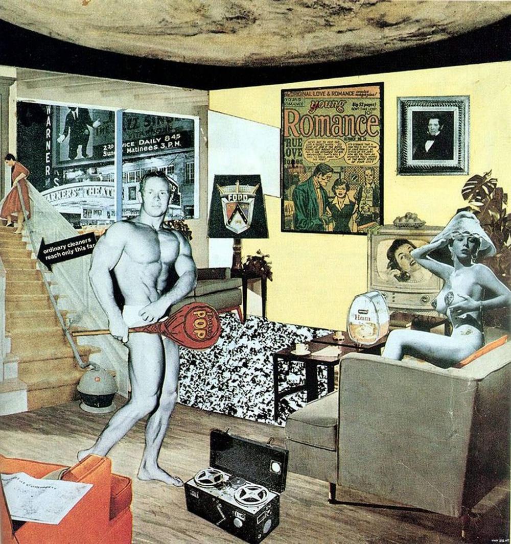 Ричард Гамильтон, «Что делает наши сегодняшние дома такими разными, такими привлекательными?», 1956