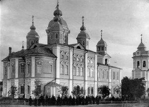 Вид собора Рождества Пресвятой Богородицы.