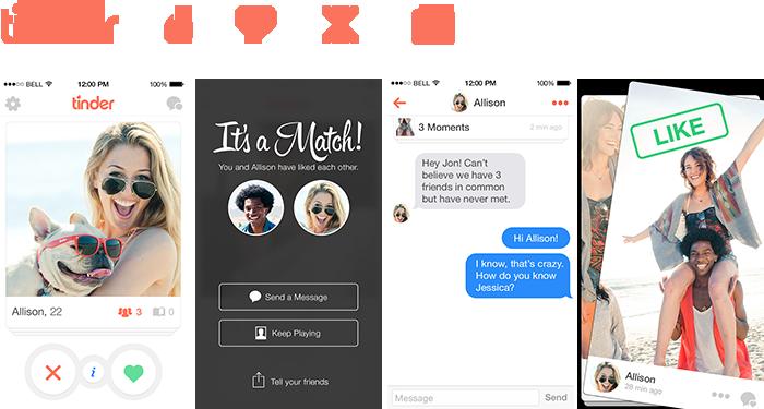 Сервис знакомств Tinder обзавелся веб-версией