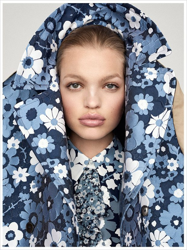 Thought Patterns: Daphne Groeneveld Stars in Sunday Times Style March 2017 Issue