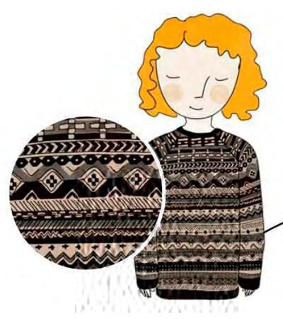 фарерские узоры для вязания