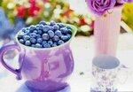 Чай, кофе, десерты, фрукты, ягоды