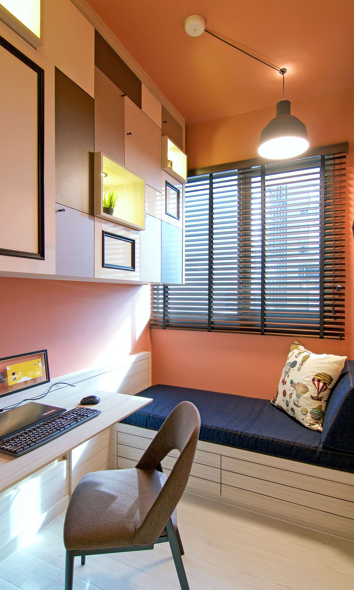 Современная квартира в Сингапуре от KNQ Associates