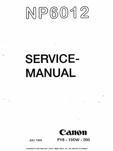 Инструкции (Service Manual, UM, PC) фирмы Canon - Страница 3 0_1b1401_712b6234_orig