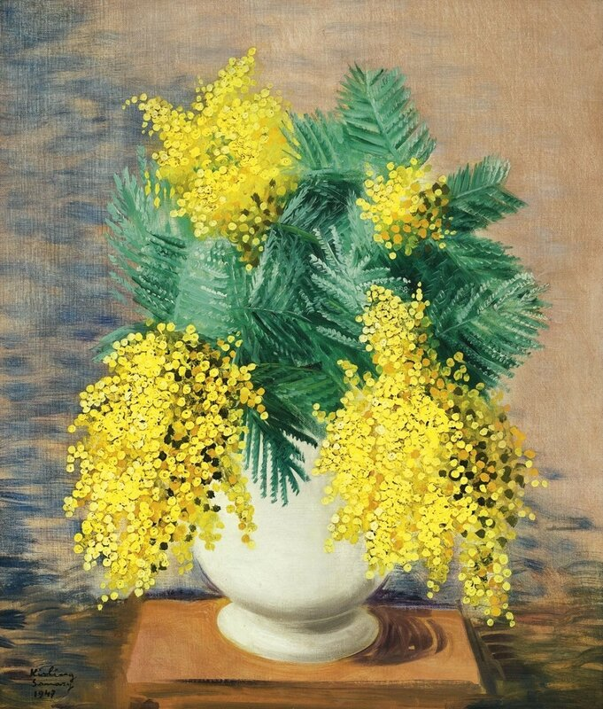 Moïse Kisling, born Mojżesz Kisling (1891-1953) — Bouquets….jpg