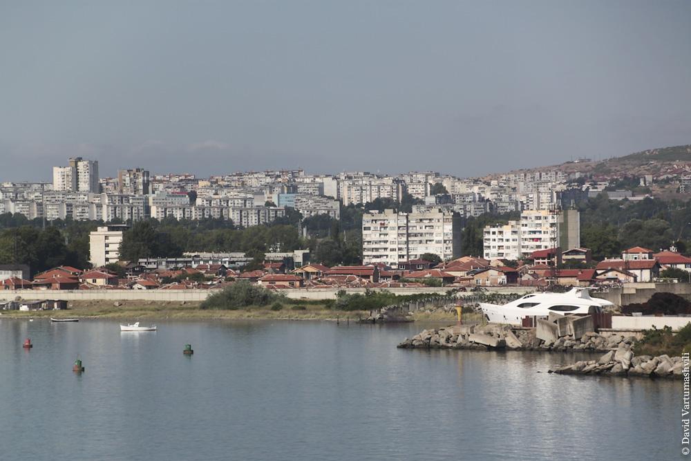 Порт в Бургасе